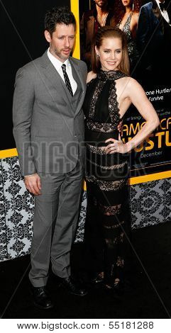 NEW YORK-DEC 8: Actress Amy Adams and Darren Le Gallo attend the