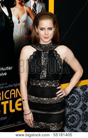 NEW YORK-DEC 8: Actress Amy Adams attends the
