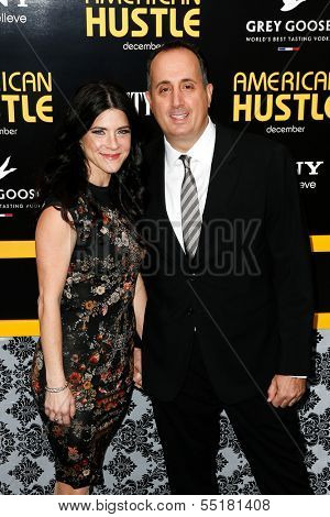 NEW YORK-DEC 8: Producer Richard Suckle and wife Maia Suckle attend the