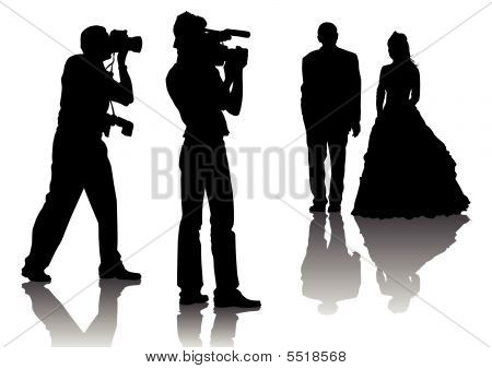 Photographers At A Wedding