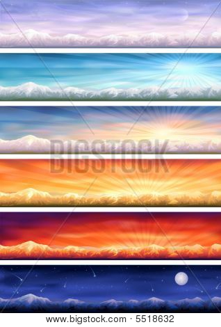 Day Cycle (mountainous Landscape)