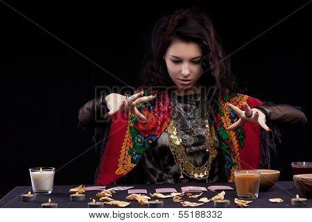 Portrait of fortune-teller