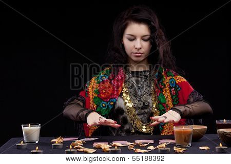 Portrait of fortune-teller