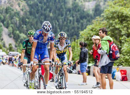 Alexandre Geniez  Climbing Alpe D'huez