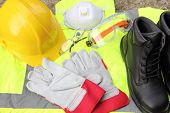 foto of ppe  - A collection of Personal protection equipment that is available - JPG