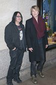 NEW YORK-DEC 4: John Rzeznik (R) and Robby Takac of the Goo Goo Dolls attend the 81st Annual Rockefe
