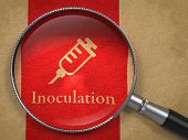 Inoculation Concept: Magnifying Glass