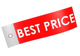 picture of budge  - Best price label image with hi - JPG