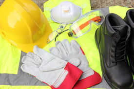 picture of ppe  - A collection of Personal protection equipment that is available - JPG