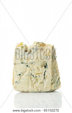 Piece of Gorgonzola Cheese,close up