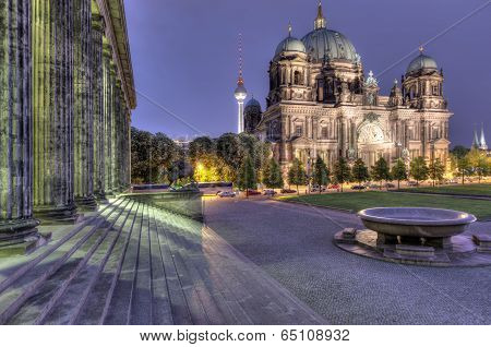 Berlin Dom And Steps