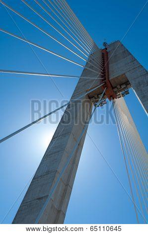 backlighting of the the Royal Bridge