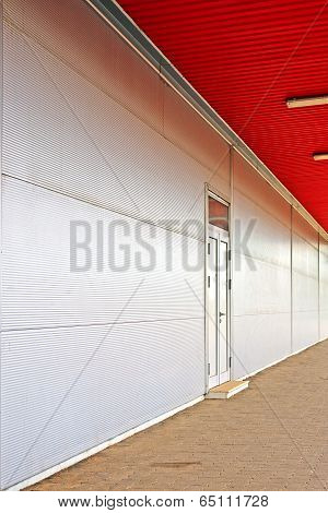 Supermarket Back Door