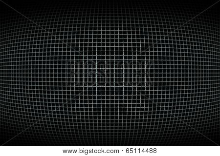 Digitally generated dark black and grey gird pattern