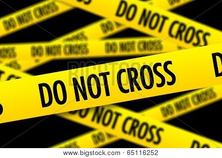 Do Not Cross Police Tape