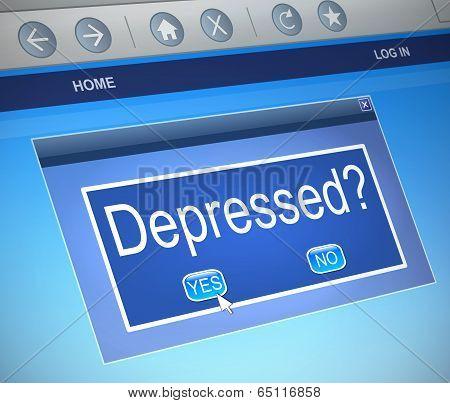 Depressed Concept.