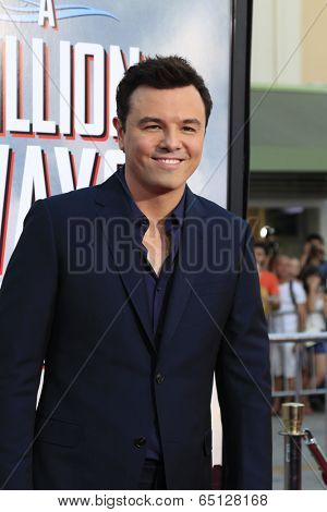 LOS ANGELES - MAY 15:  Seth MacFarlane at the
