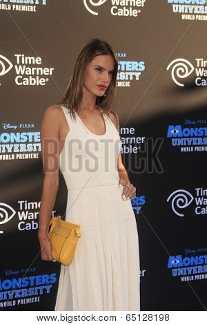 LOS ANGELES - JUN 17:  Alessandra Ambrosio at the