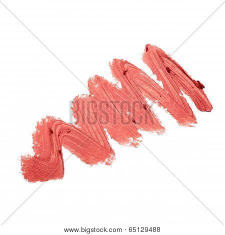 Smudged Lipstick