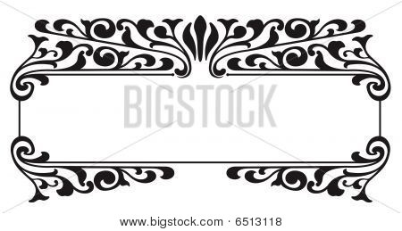 Victorian Nameplate