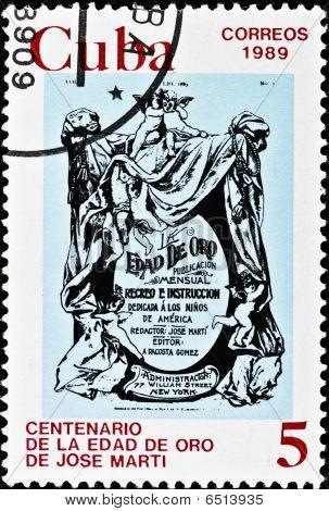 Vintage Cuba Postage Stamp