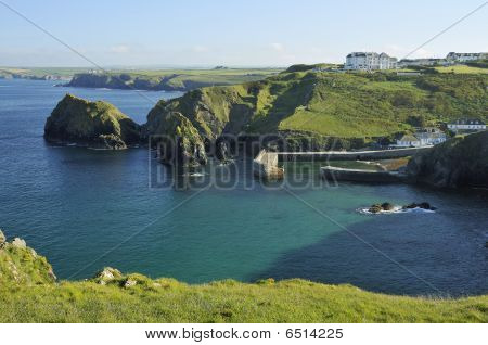Mullion Cove and Harbour