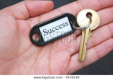 Holding The Key To Success