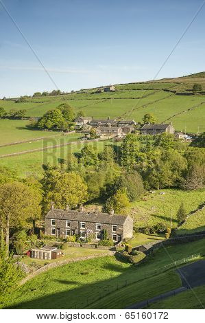 Small hamlet, Yorkshire Dales