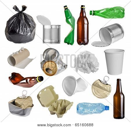 Trash For Recycling