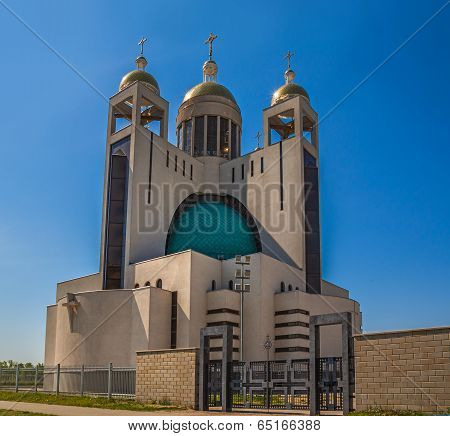 Patriarchal Cathedral Of The Resurrection (kiev, The Ukrainian Greek Catholic Church)