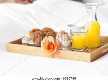 Close-up Of A Healthy Breakfast