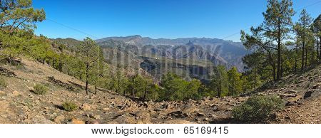 View From Altavista Mountain To Gran Canaria