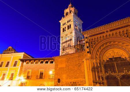 Aragon Teruel Cathedral Mudejar Santa Maria Mediavilla Unesco heritage in Spain