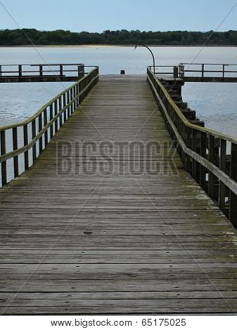Coastal Pier Jetty