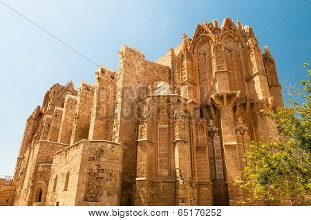 St. Nicholas Cathedral - Lala Mustafa Mosque. Famagusta, Cyprus
