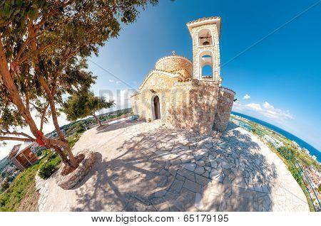 Church Profitis Ilias. Protaras, Cyprus