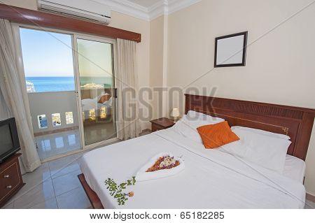 Interior Of Bedroom In Apartment