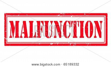 Malfunction Stamp