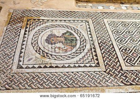 Roman mosaics in Cyprus.