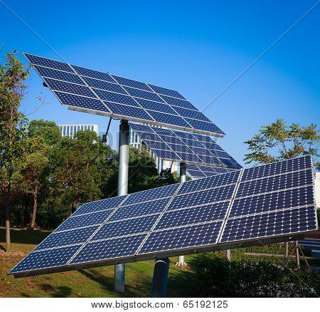 Park Green Energy Solar Power System