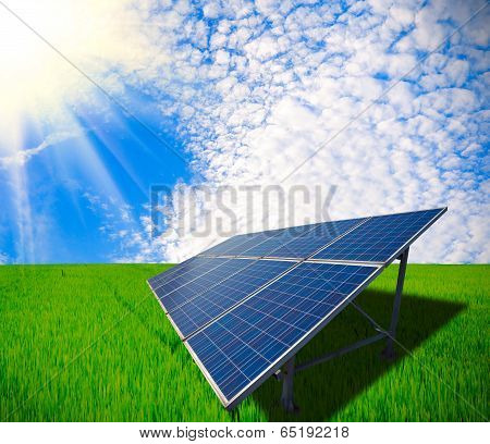 Solar Energy For Sustainable Development Of Green Meadow