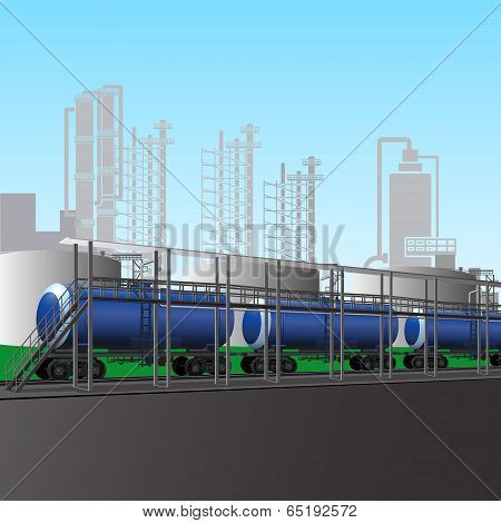 Loading Of Petroleum Products At The Refinery