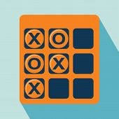 picture of tic-tac-toe  - Tic Tac Toe Icon - JPG