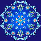 picture of ottoman  - Series of patterns designed using the old Ottoman motifs - JPG