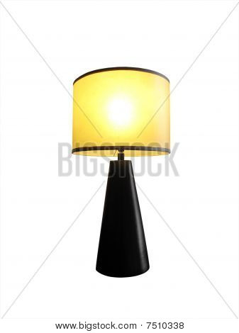 Table Lamp Lit