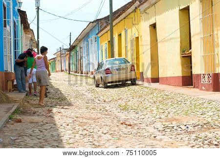 Scenes of Trinidad, Cuba