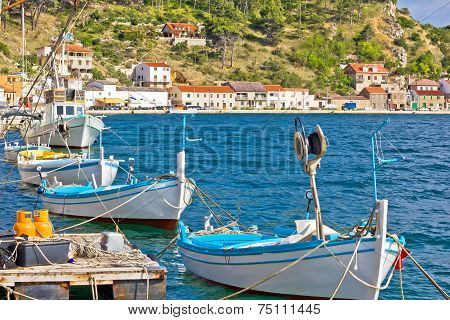 Novigrad Dalmatinski Boats On The Coast