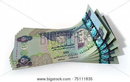 Dirham Bank Notes Spread