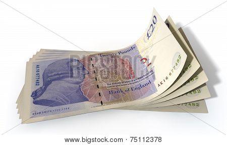 Pound Bank Notes Spread