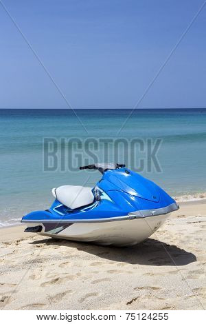 Jetski On Beach-p